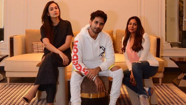 Photos: Shahid Kapoor and Mira Rajput visit Gauri Khan's store in Mumbai