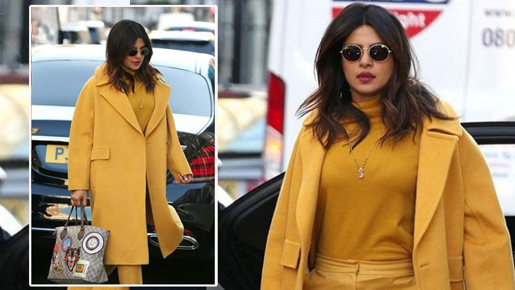 IN PICS: Priyanka Chopra flaunts her mangalsutra on the streets of London!