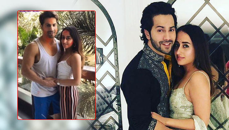 Varun Dhawan and Natasha Dalal wish Happy Holi with adorable photos. See pics